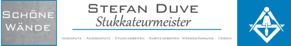 Stefan Duve – Stukkateurmeister